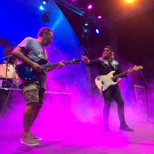 Lito con Vargas Blues Band