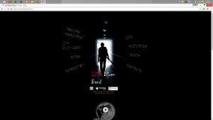 Antigua web de la banda