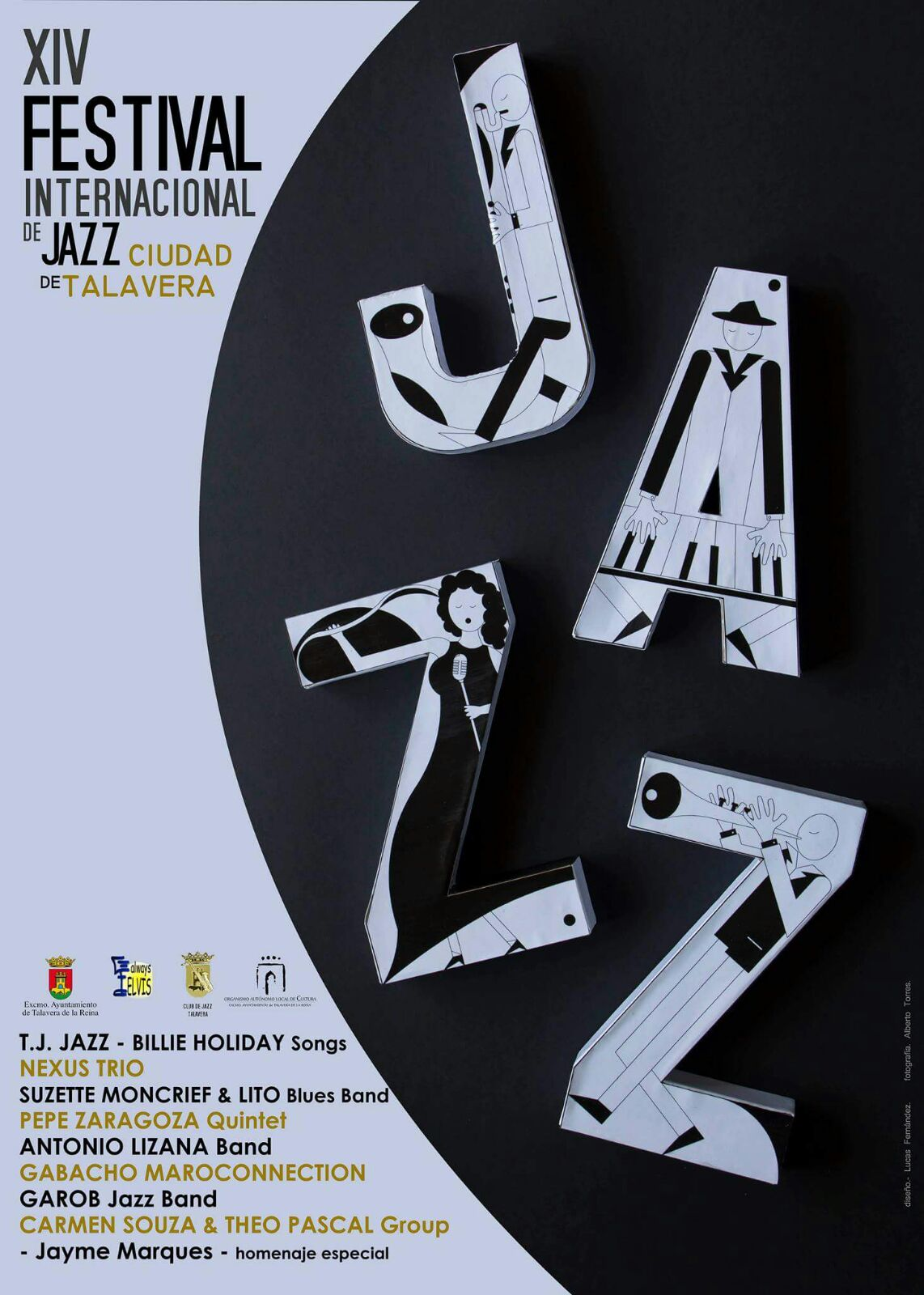 Cartel xiv Festival Jazz Cuidad Talaveraa 2016 Lito Blues Band