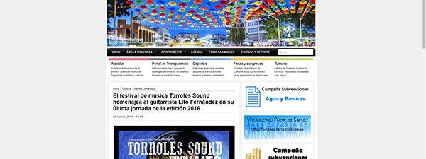 El festival de música Torroles Sound homenajea al guitarrista Lito Fernández en su última jornada de la edición 2016