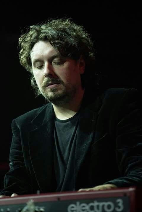 Manuel Moles teclado Lito Blues Band